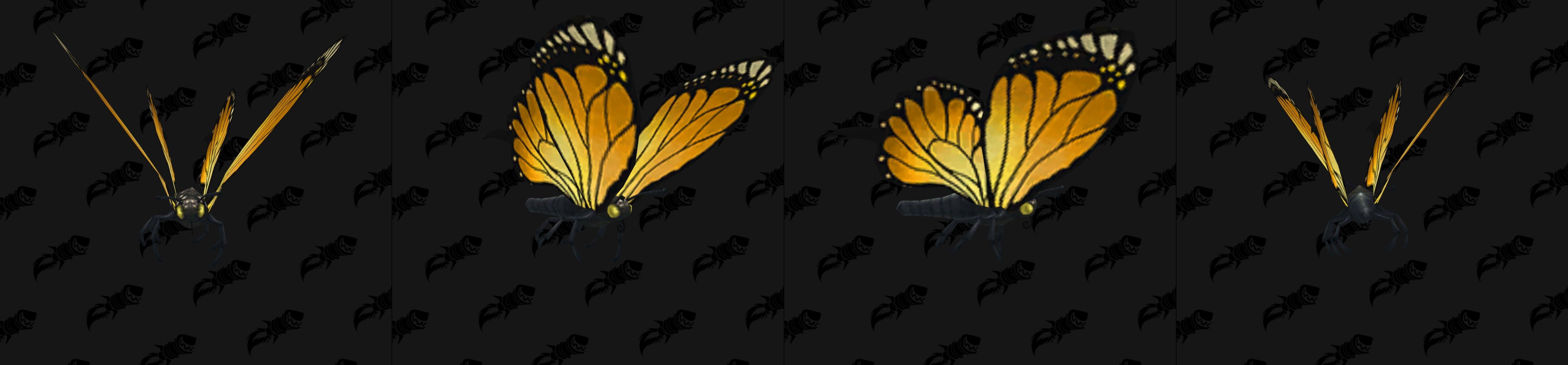Modèle de mascotte papillon jaune