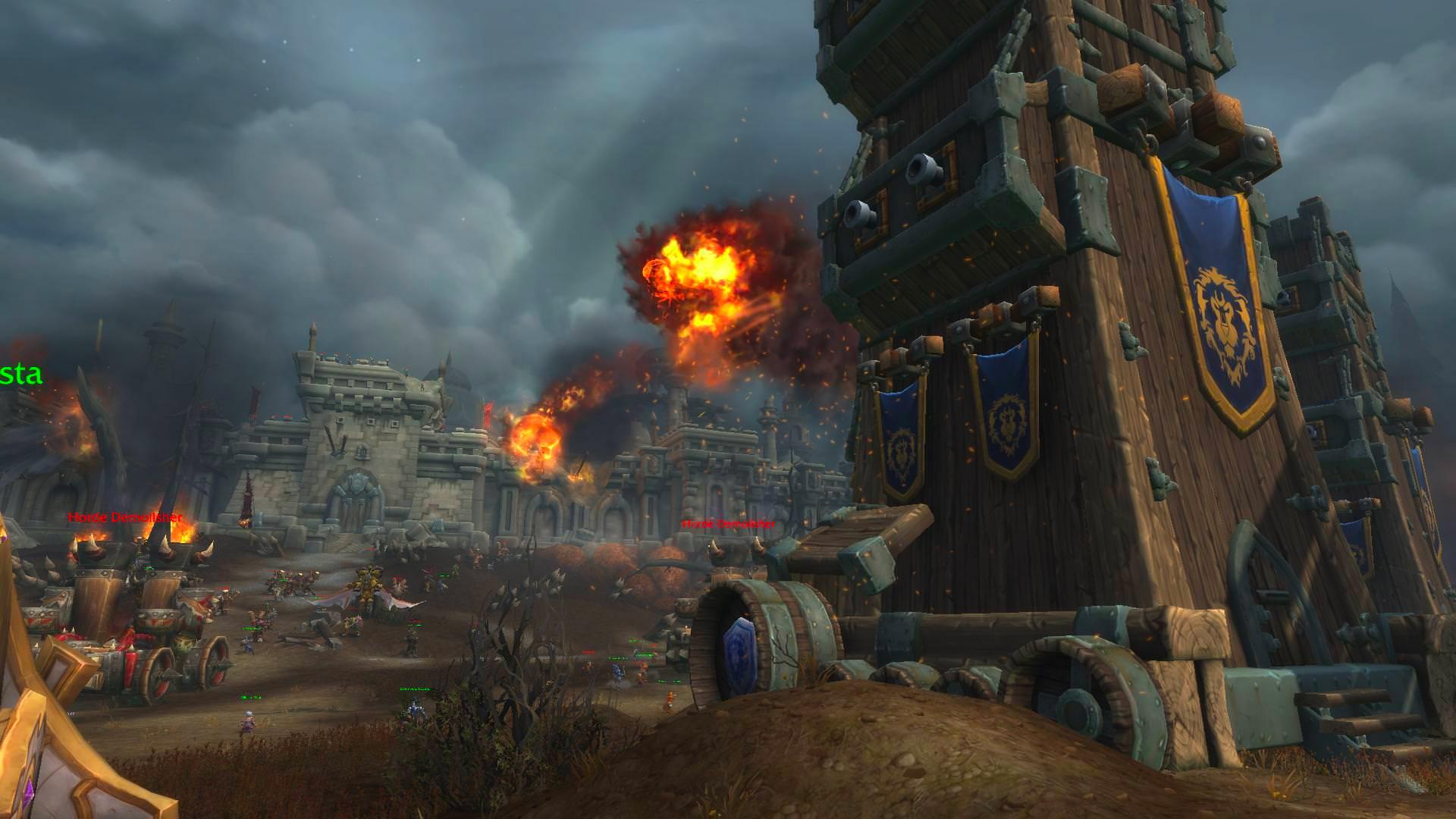 Le scénario Bataille de Lordaeron est disponible dans ce build