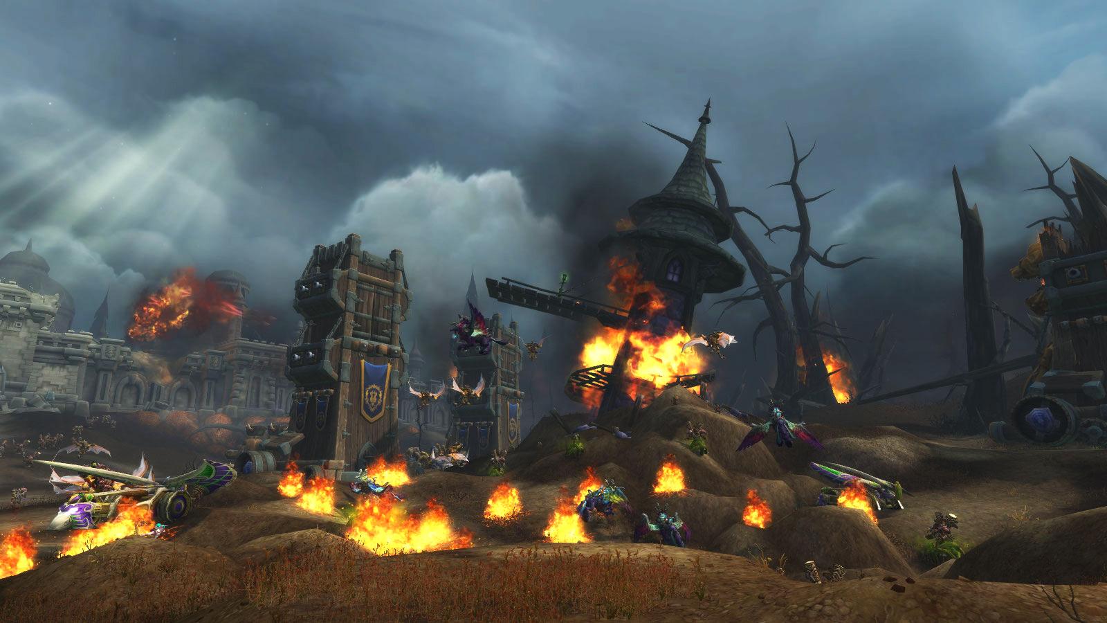 Brisez les défenses de la Horde afin d'accéder à Lordaeron