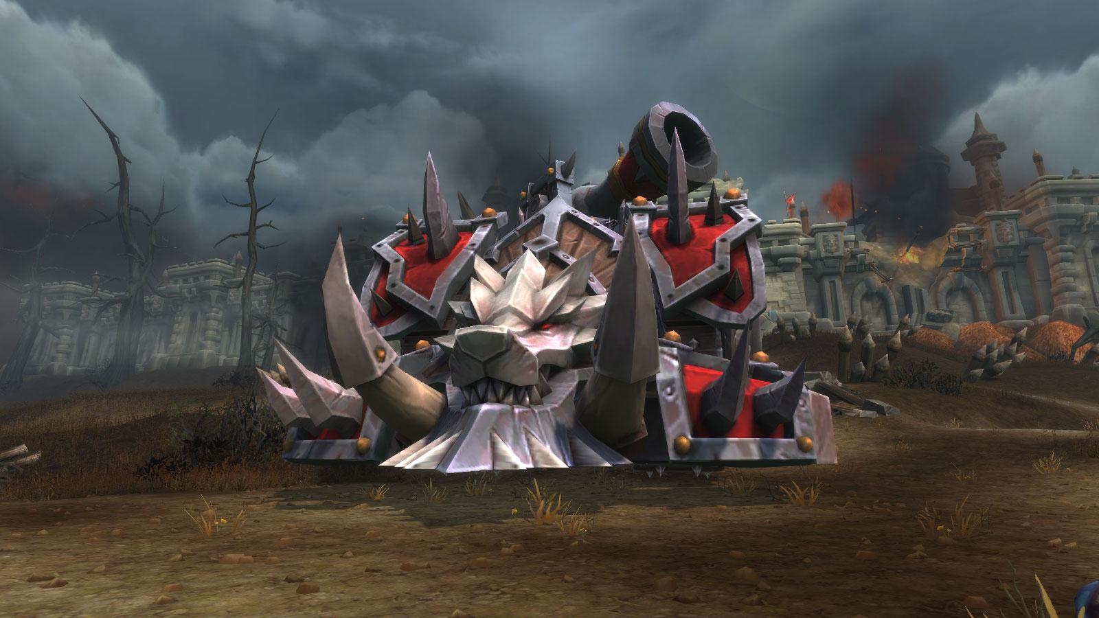 Machine de guerre en azérite de la Horde