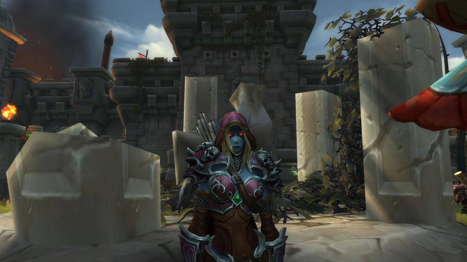 Défendez Lordaeron auprès des personnages clés de la Horde