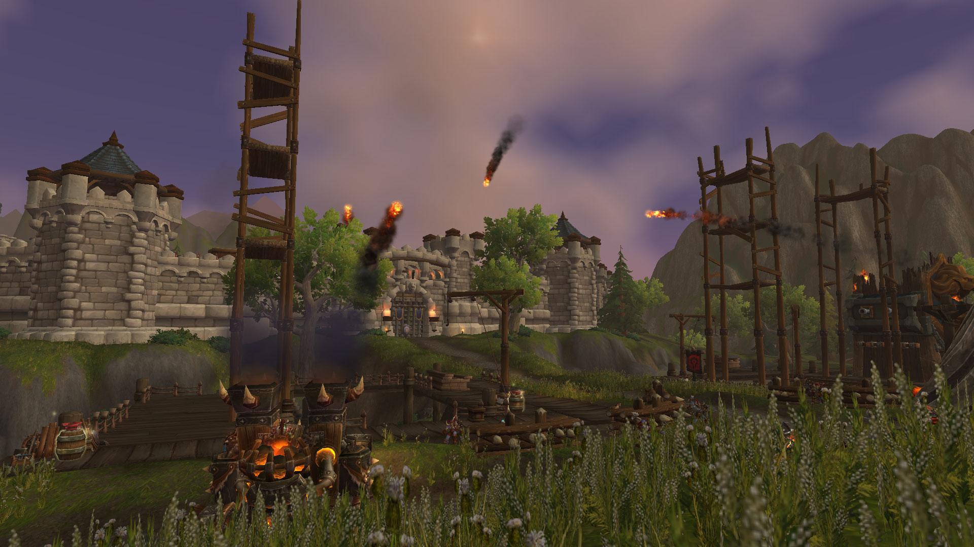 Lancez vos engins de siège sur la forteresse ennemie