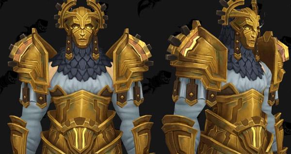 raid uldir : les sets d'armure en images