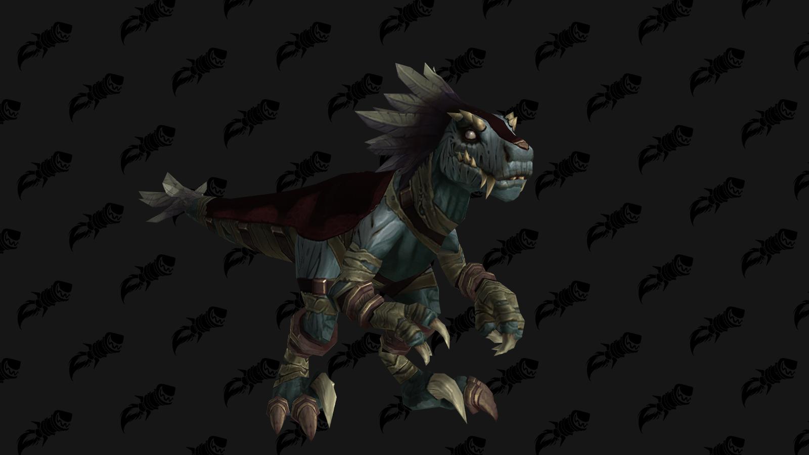Le raptor momifié peut être obtenu dans le donjon Repos des rois