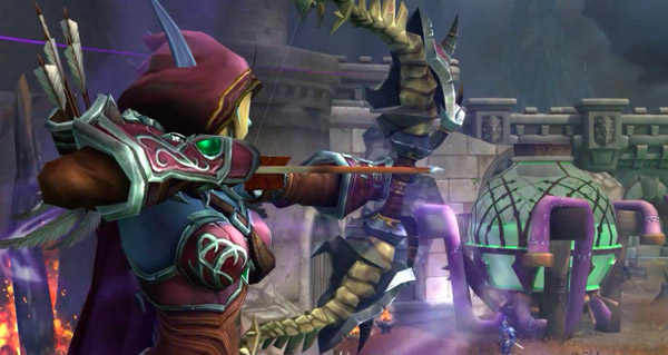 bataille de lordaeron : premieres versions des cutscenes
