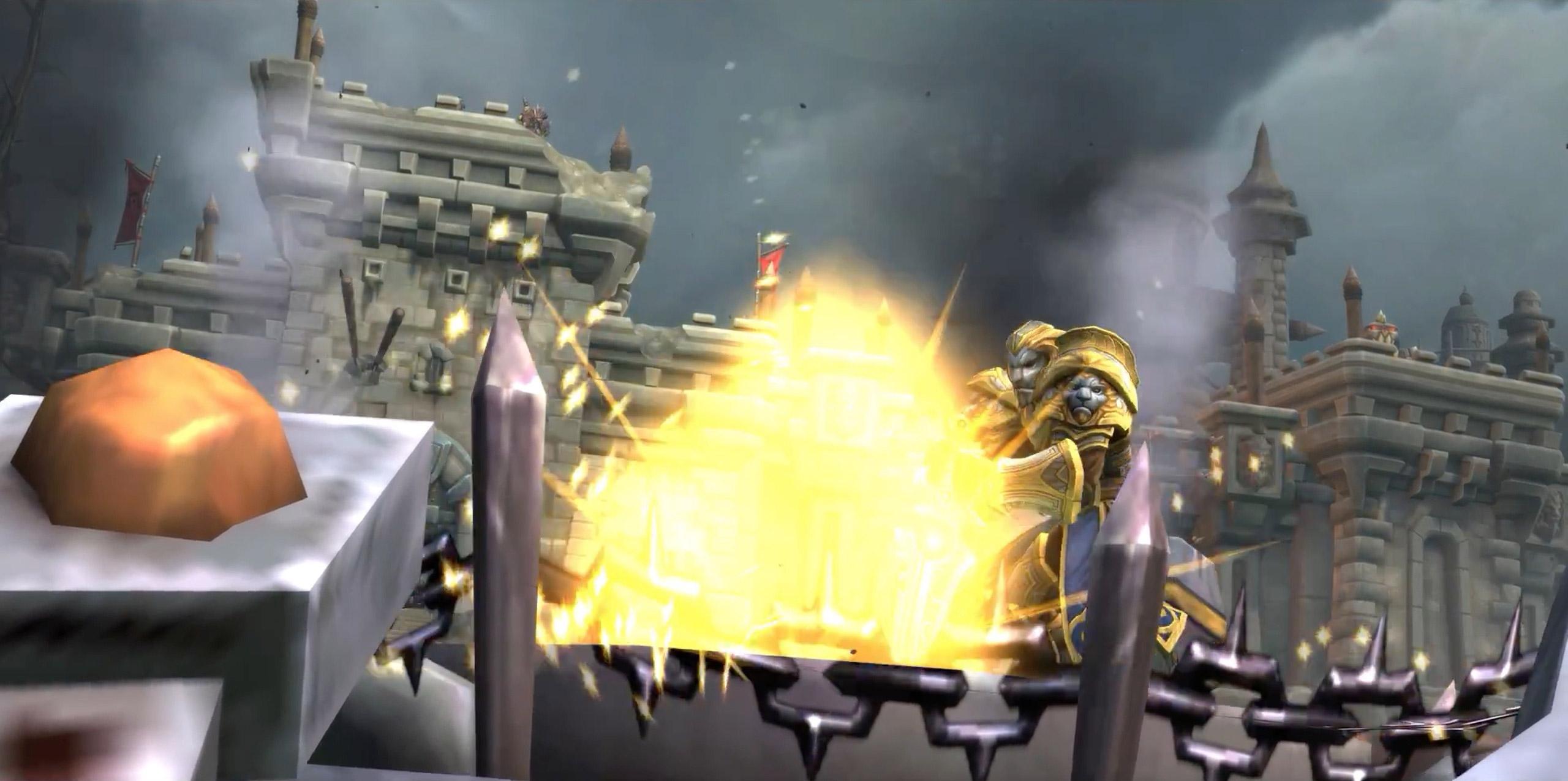 Anduin détruit la machine de guerre