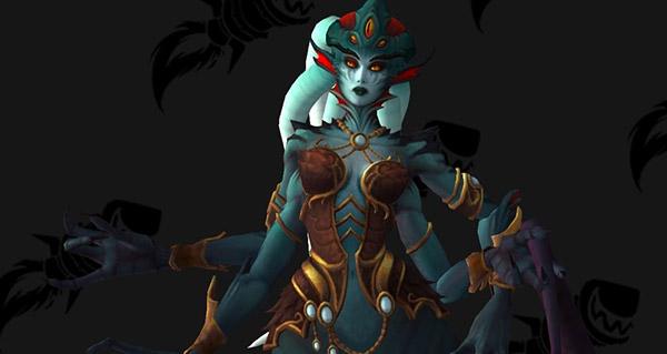 reine azshara : nouveau modele et voix du boss