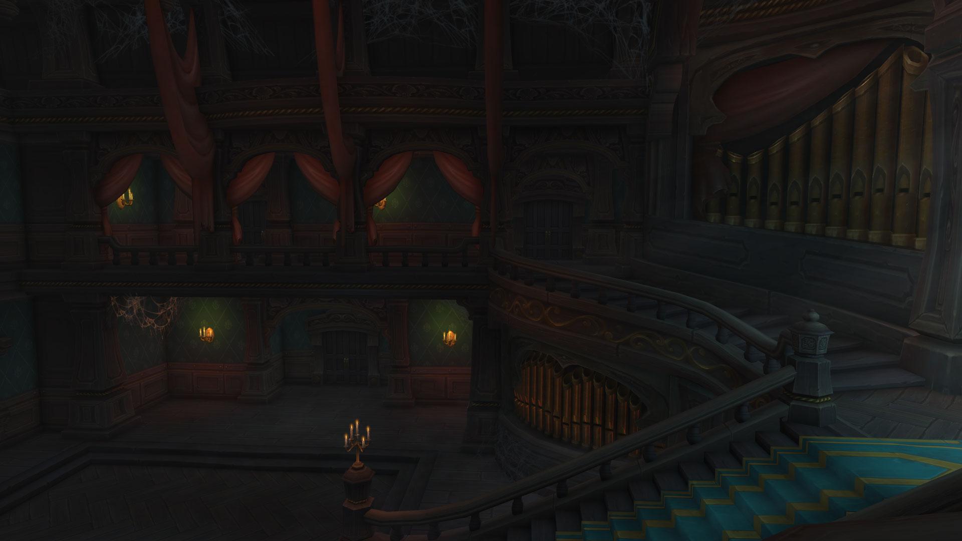 La plupart des portes du manoir Malvoie sont fermées lorsque vous débutez le donjon
