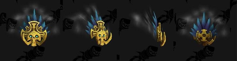 Le masque tiki enchanté est une nouvelle mascotte de combat des enchanteurs