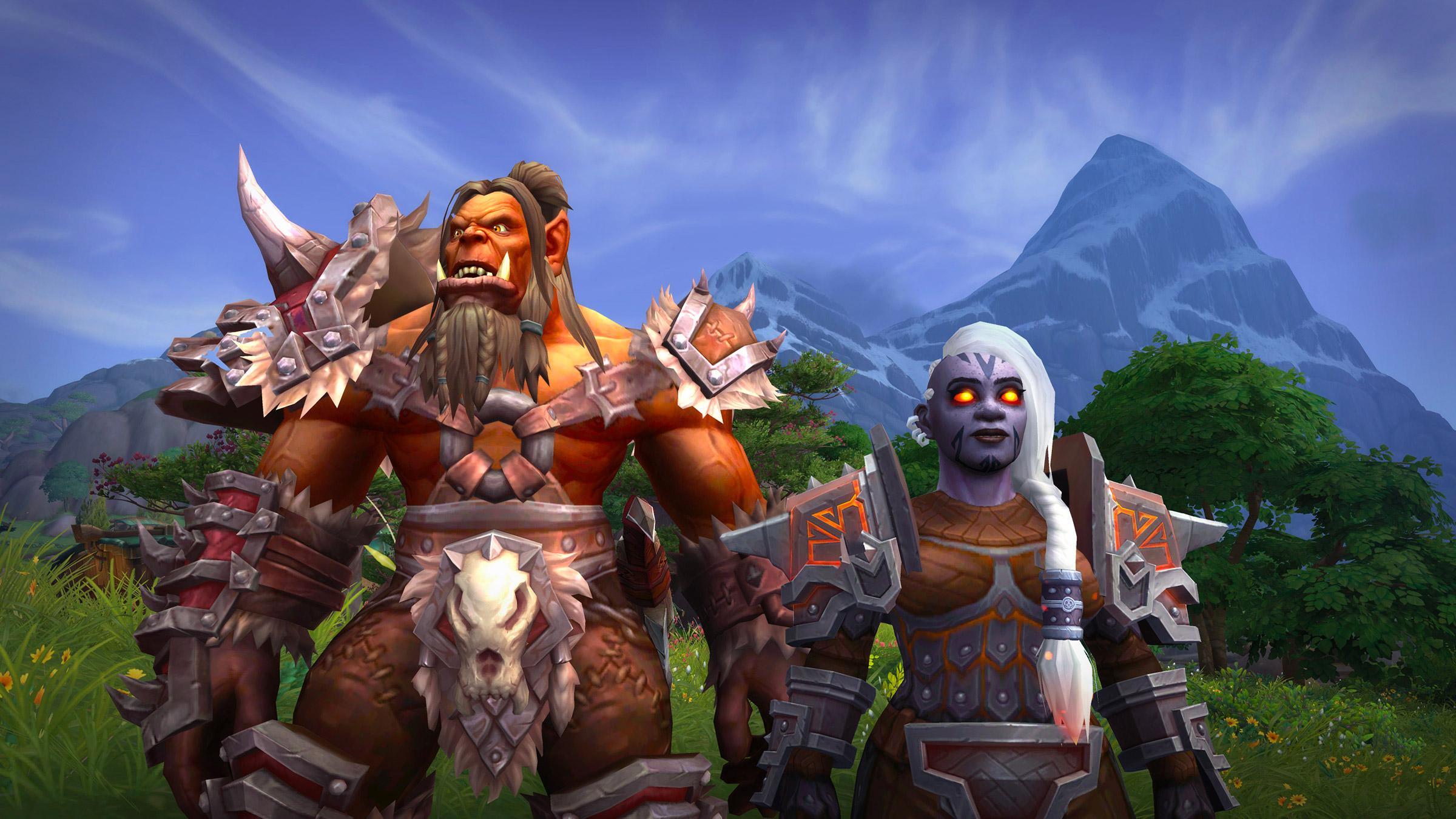 Les Orcs Mag'har et les Nains sombrefers pourront être débloqués au lancement de Battle for Azeroth