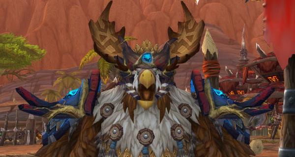 patch 8.1 - build 28616 : modeles de selenien tauren de haut-roc et chariot a viande