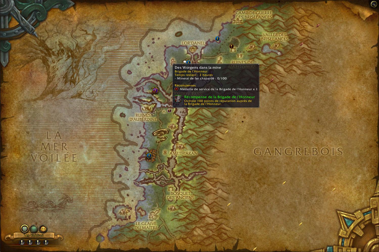Des expéditions sont disponibles tous les jours à Sombrivage lorsque votre faction contrôle la région