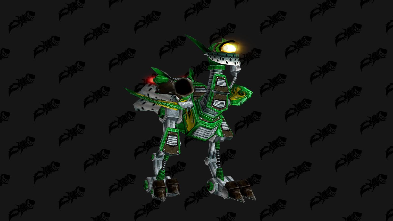 Meca Trotteur un des 3 boss du niveau 7 du combat de mascottes à Gnomeregan