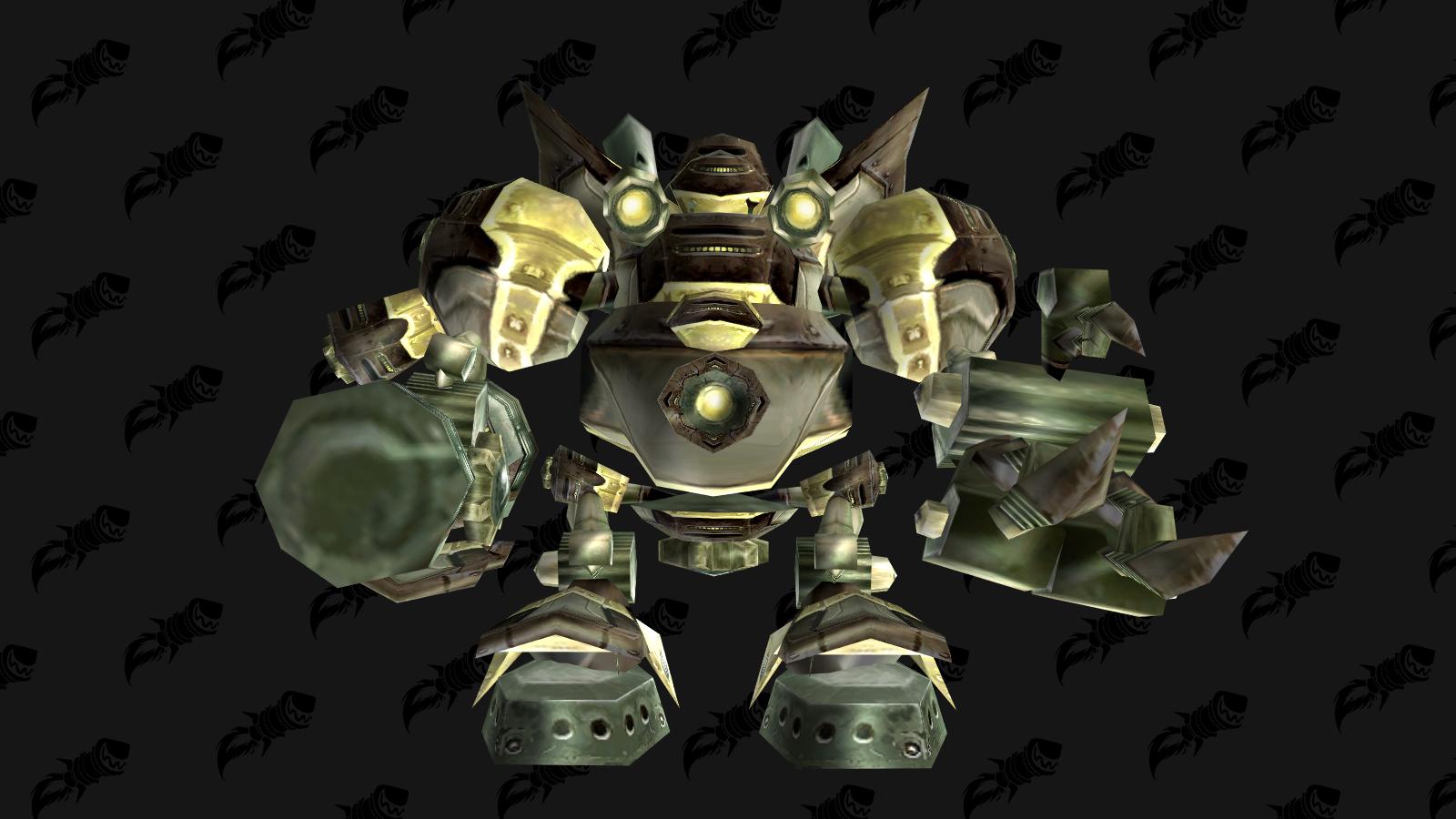 Dernier boss du donjons de mascottes de Gnomeregan : Robot Pulverizer Mk 6001