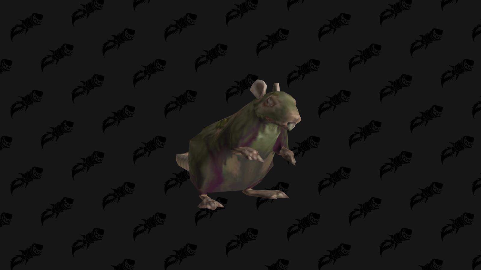 Rat lépreux boursouflé le boss du niveau 6 du donjon de mascottes Gnomeregan