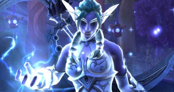 patch 8.1 : cutscene de l'ascension de tyrande