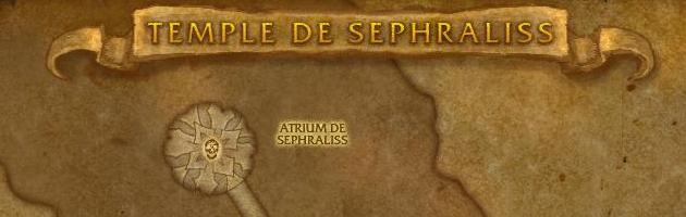 Vous pouvez trouver le crapaud de peste dans le donjon Temple de Sephraliss