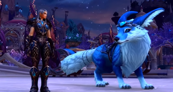 la monture vulpin leakee via une video de blizzard