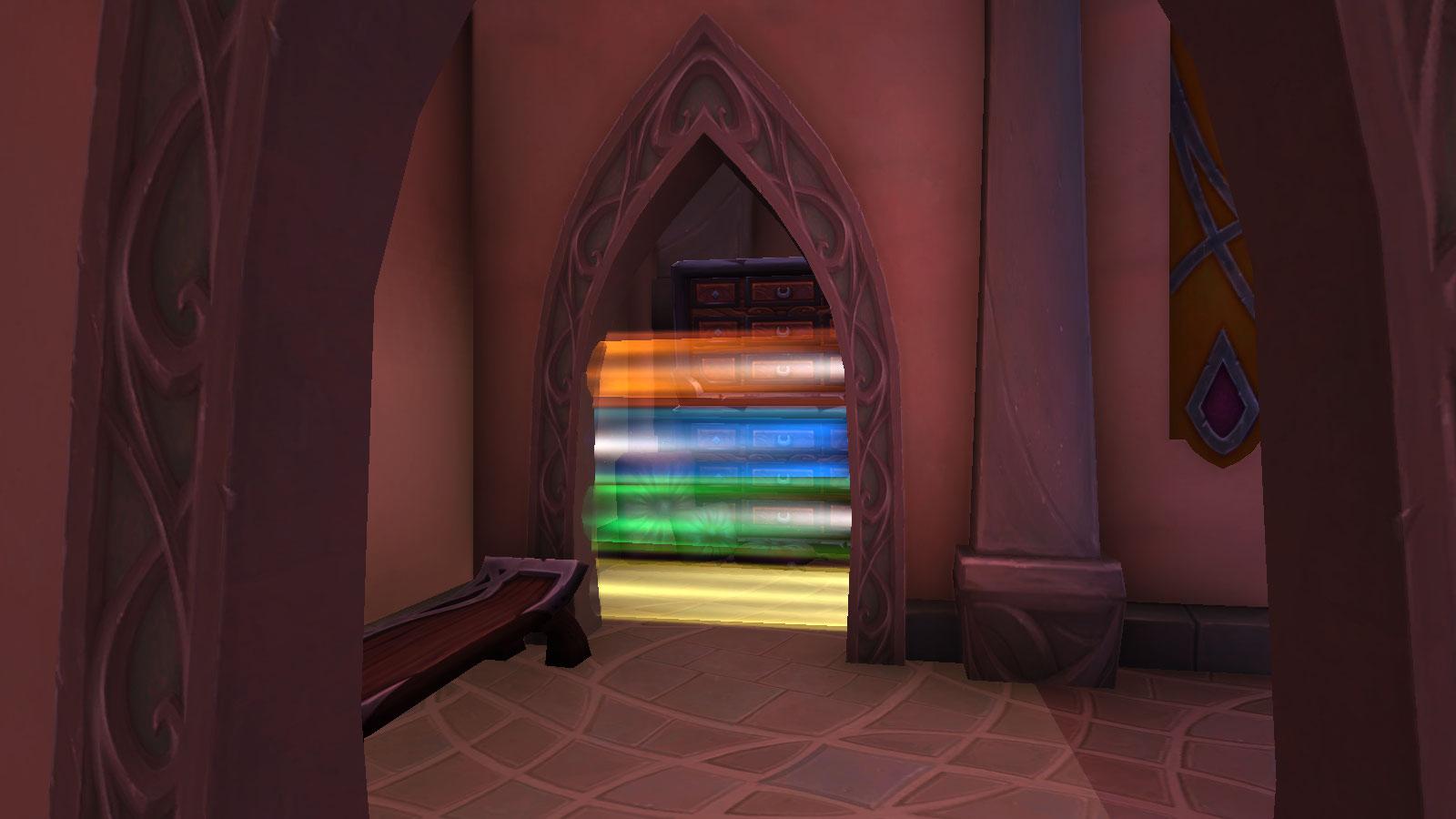Barrière de couleurs à Suramar