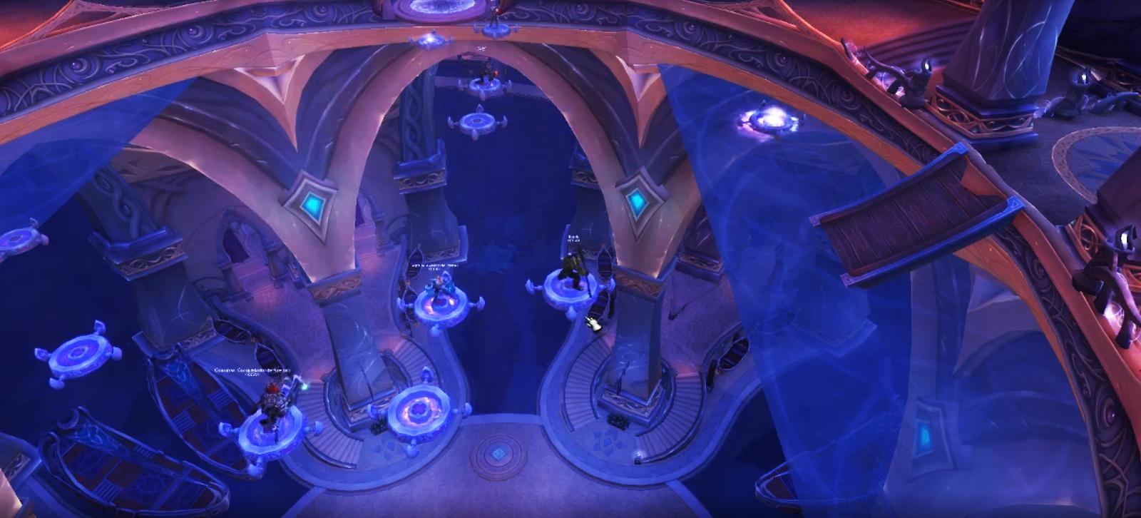Coordonnez-vous et déplacez-vous sur les disques afin d'atteindre la pièce suivante (image AlfonoflA)