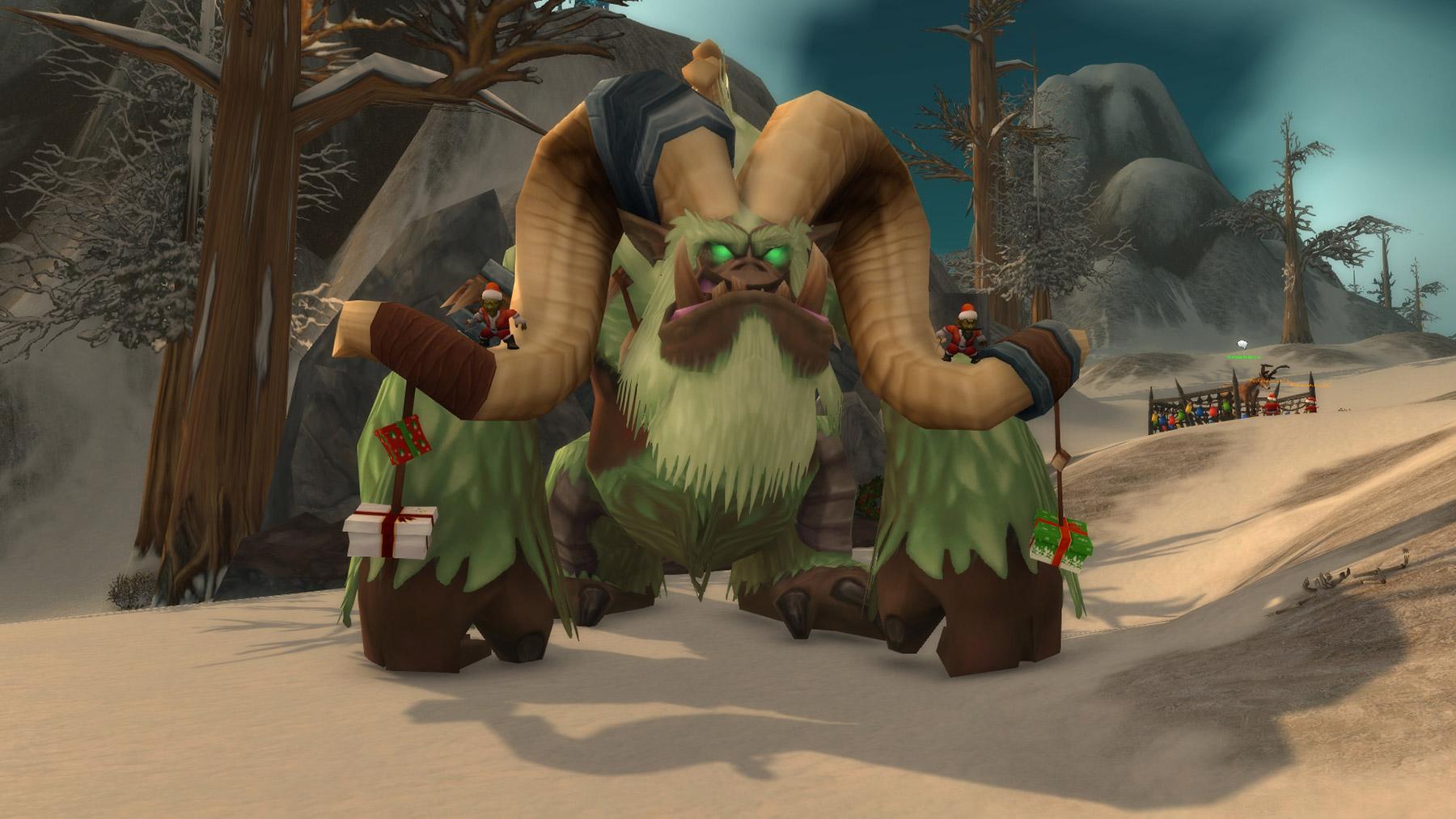 L'abominable Grinche se trouve dans les Contreforts de Hautebrande