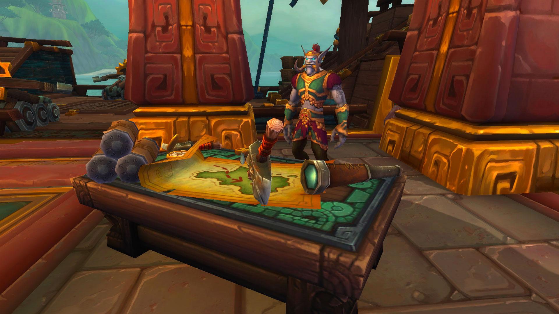 Grâce au scaling, aux armes prodigieuses et aux légendaire, un personnage niveau 110 est surpuissant à BFA
