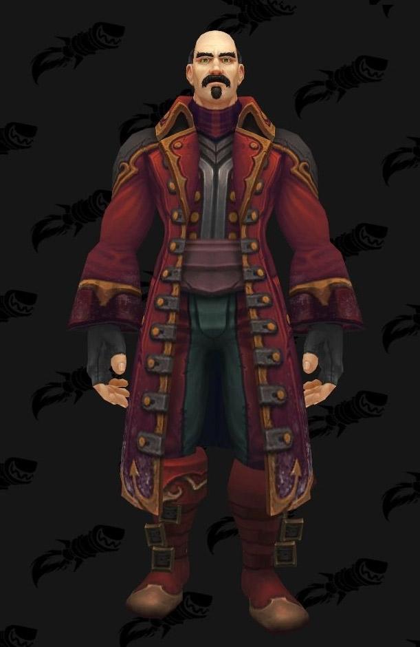 Militaire de Kul Tiras : ensemble d'armure