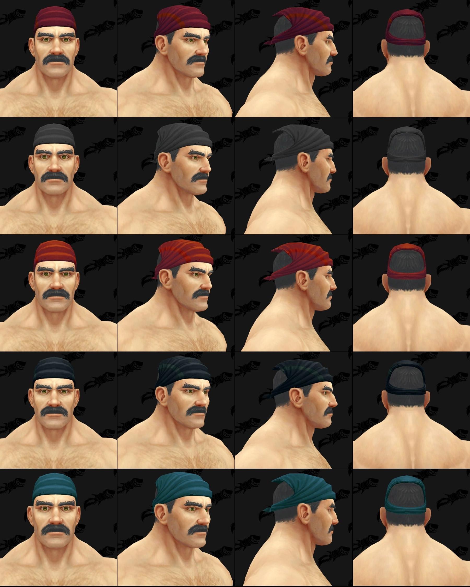 Modèles de chapeaux Kul Tiras