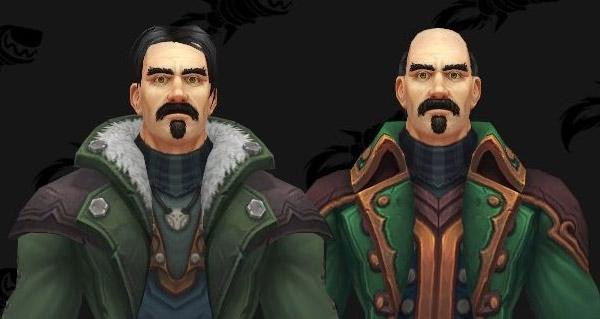 battle for azeroth : modeles d'armures citoyens et militaires de kul tiras et chapeaux