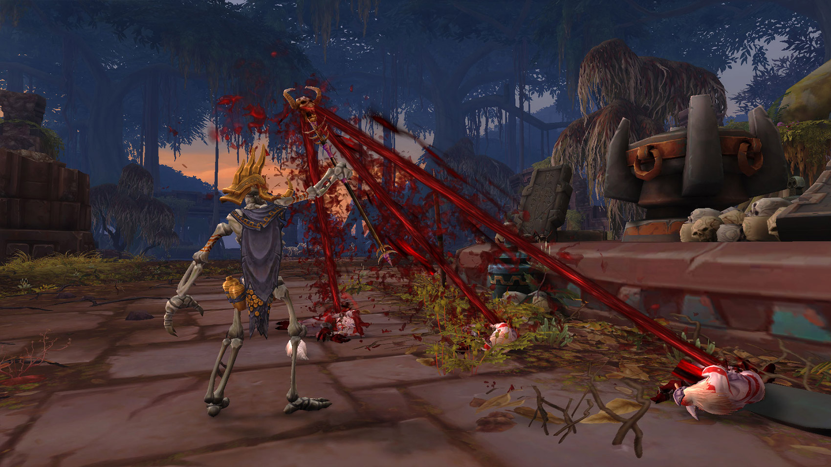L'Alliance a conclu un pacte avec les trolls de sang de Nazmir.