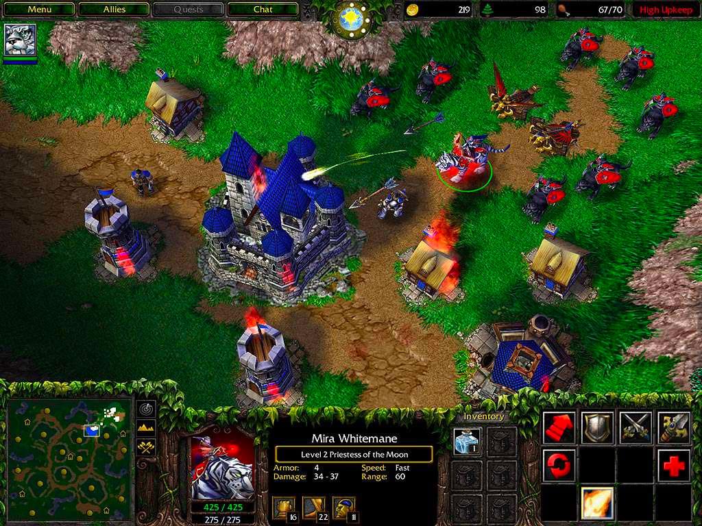 Un remake HD de Warcraft 3 serait-il en préparation chez Blizzard ?