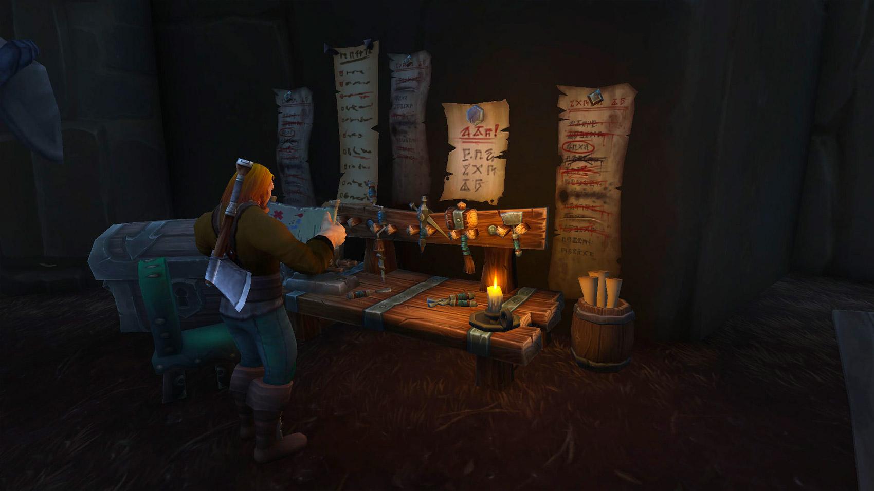 Les différents artisans de l'Alliance trouvent à Boralus.