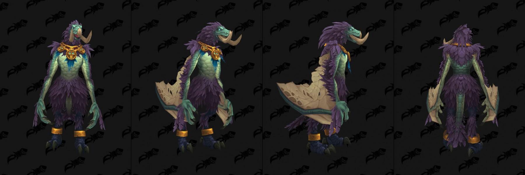 Forme du Druide Équilibre Troll zandalari
