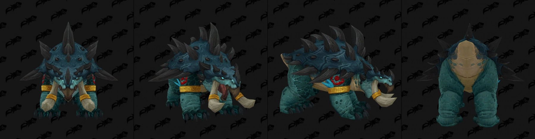 Forme d'ours - Troll zandalari