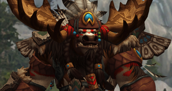 battle for azeroth : race alliee tauren de haut-roc