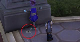 Le Courrier perdu apparaît sur le sol