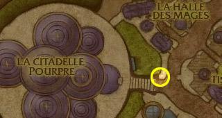 La boite aux lettres au pied de la Citadelle pourpre