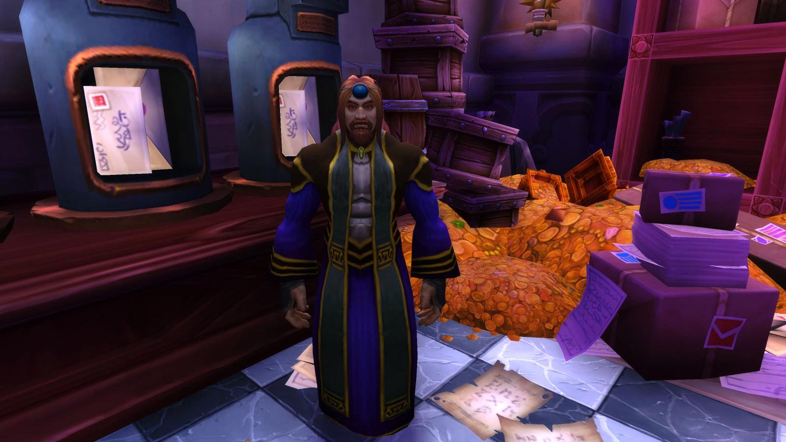 Le Maître de poste de Dalaran vous confie une suite de quêtes qui vous conduit à jouer les coursiers