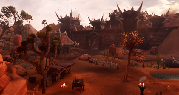 video : durotar dans unreal engine 4