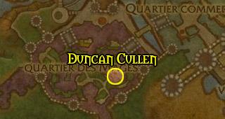 Emplacement de Duncan Cullen à Hurlevent