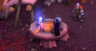 Approchez Uuna de cette table au Guet du sang