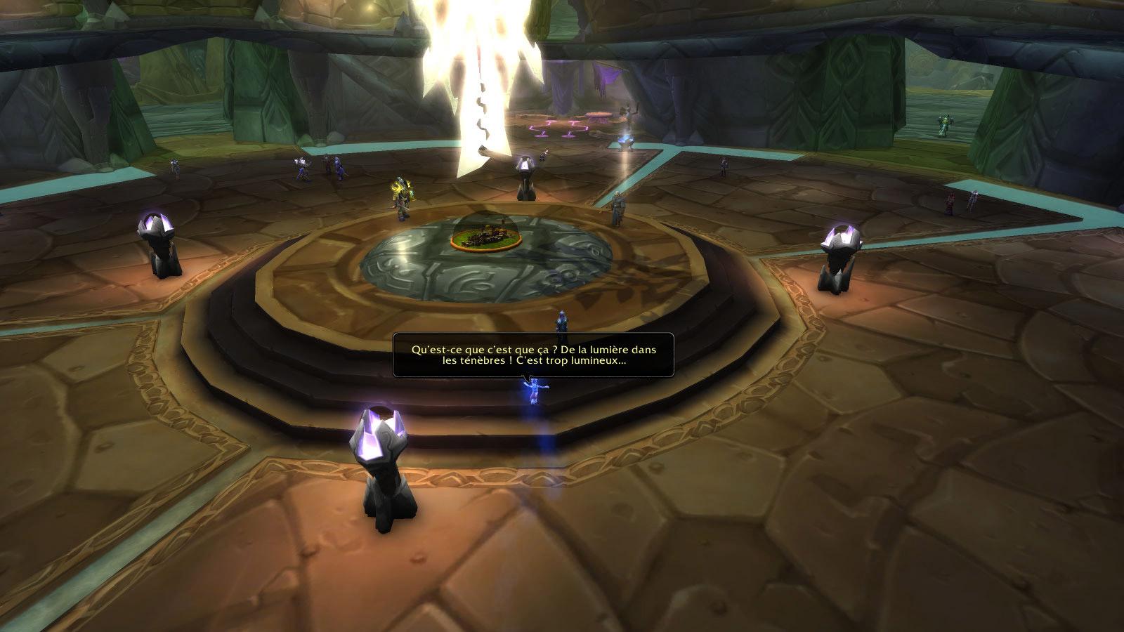 Emmenez Uuna à Shattrath sur la Terrasse de la Lumière (Outreterre)