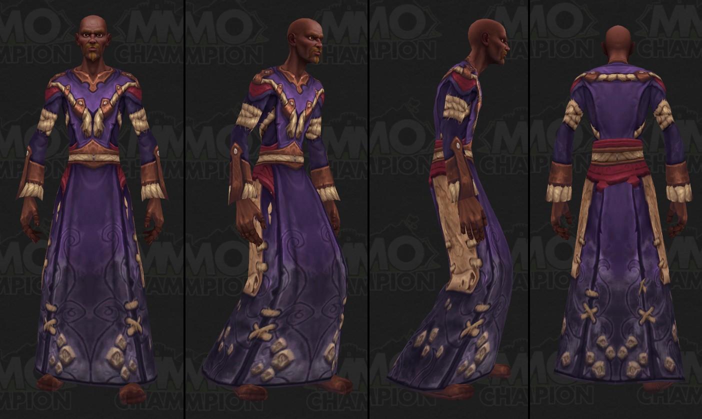 Autre modèle d'humain à Kul Tiras - Battle for Azeroth