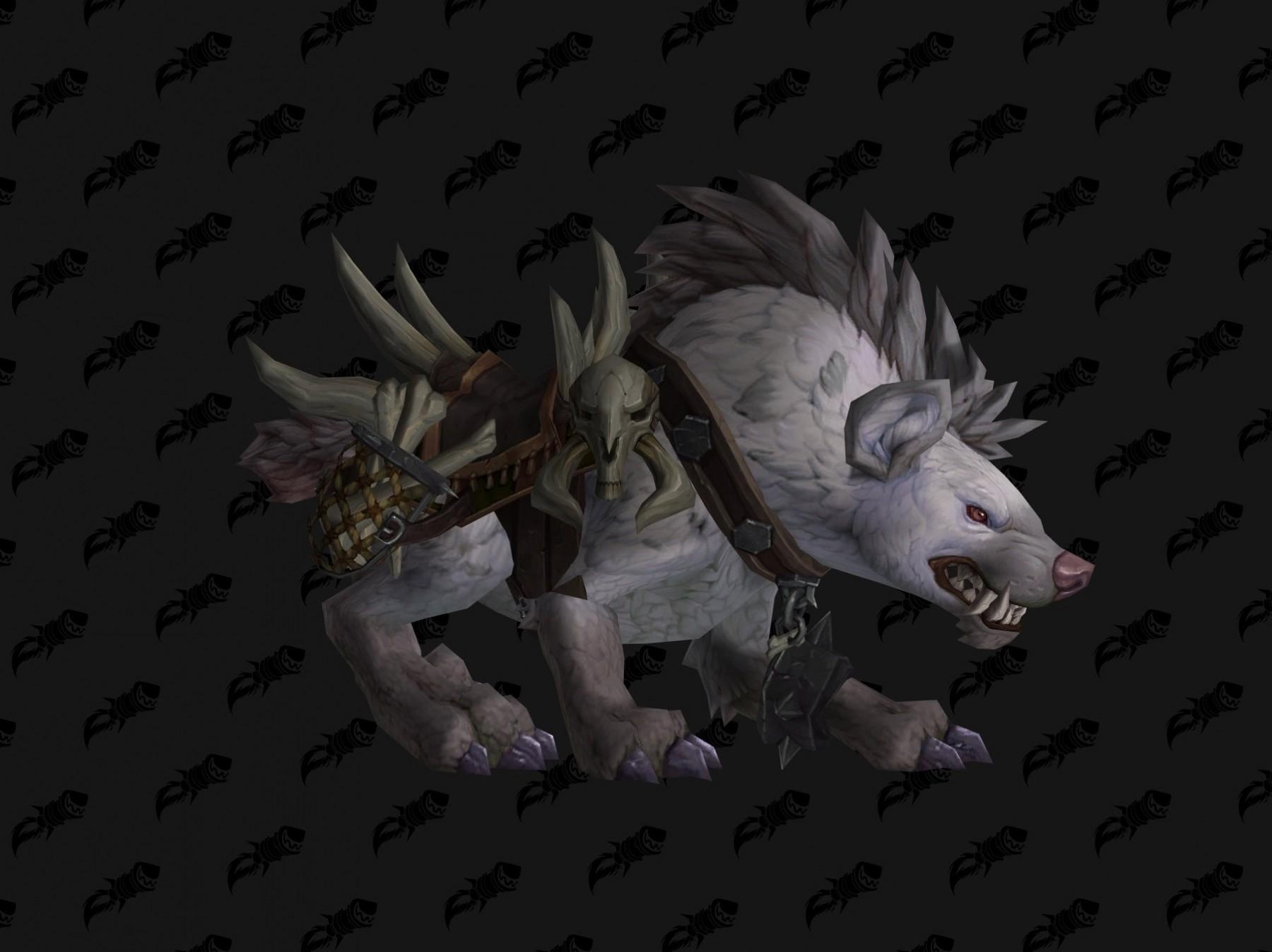 Hyène coloris gris Battle for Azeroth