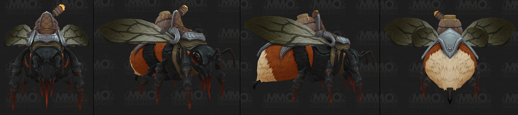 Monture Abeille coloris marron - Battle for Azeroth