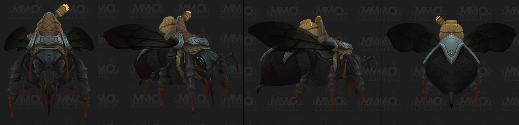 Monture Abeille coloris noir - Battle for Azeroth
