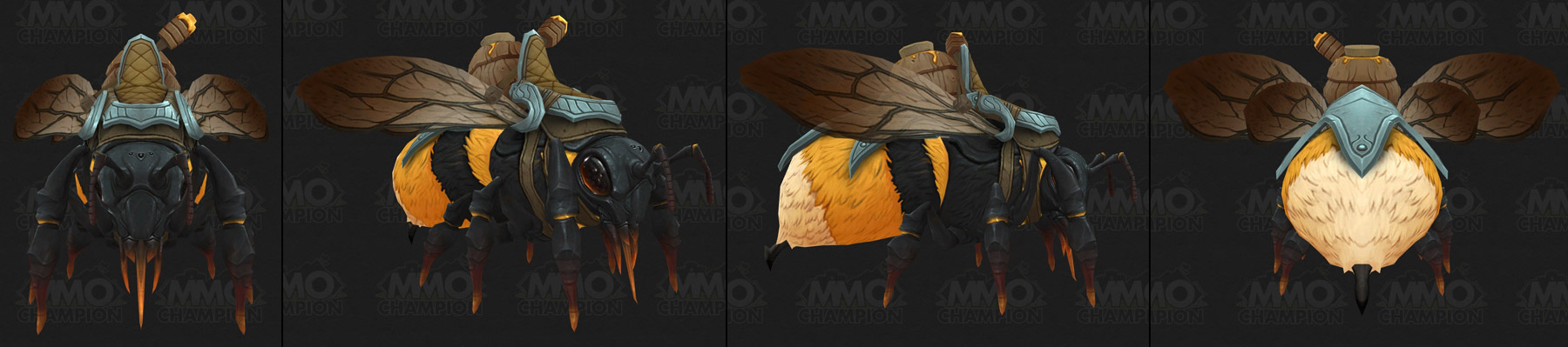 Monture Abeille coloris jaune - Battle for Azeroth
