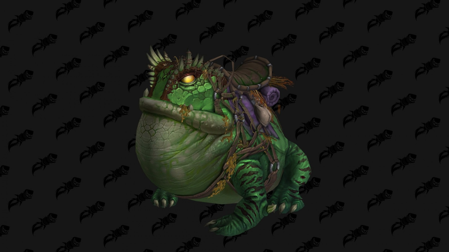 Monture Grenouille de coloris vert - Battle for Azeroth