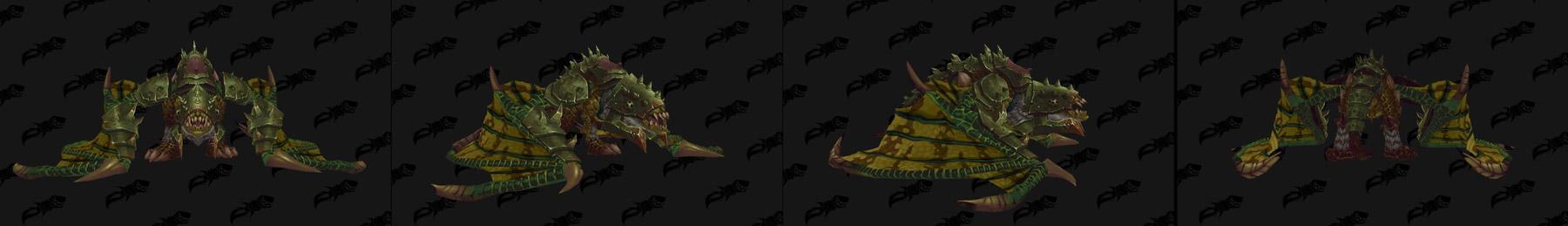 Monture Gladiateur proto-drake vert