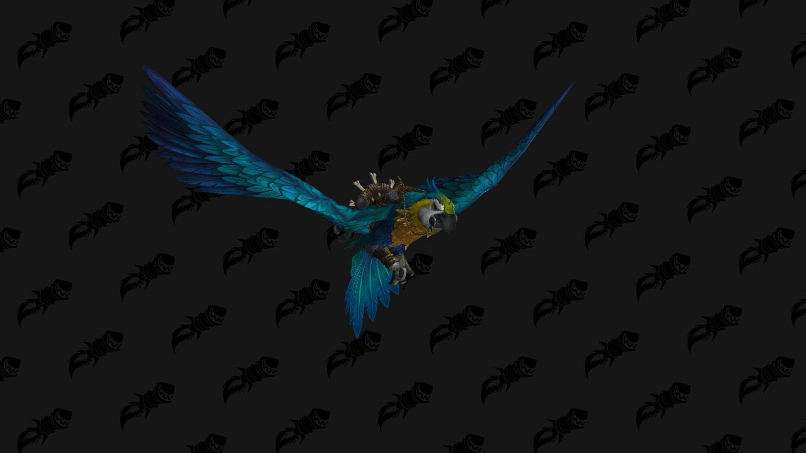 Monture perroquet géant bleu - Battle for Azeroth